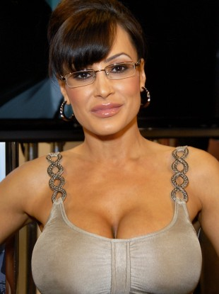 Lisa Ann, all dressed up as Sarah Palin