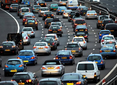 Stock photo: traffic congestion in Bristol, UK