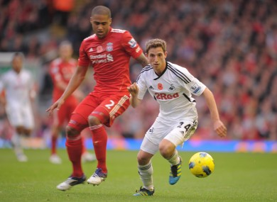 Joe Allen could be playing alongside Glen Johnson and co in the coming season.