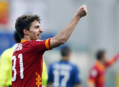 Borini impressed at Roma last season.