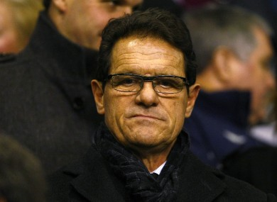 Capello will reportedly live in Russia as part of the deal.