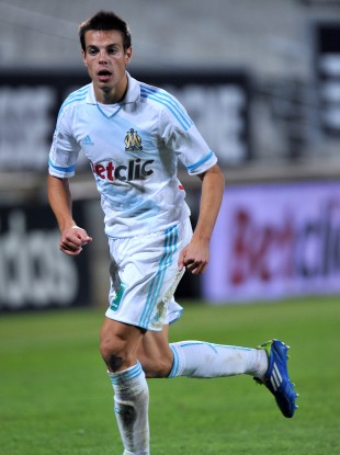 Azpilicueta playing for Marseille. 