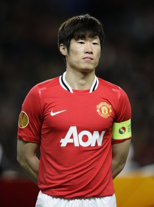 Park captaining United last season.