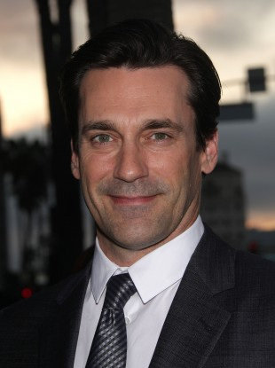 Jon Hamm, who plays Don Draper in 'Mad Men': the 1960s-themed drama could become TV's most honoured show at this year's Emmys.
