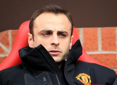 Berbatov spent much of last season on the bench.