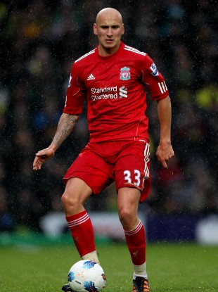 Liverpool's Jonjo Shelvey: signed up.