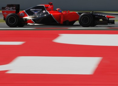 A Marussia F1 car (file photo).