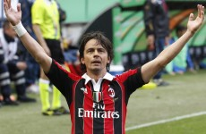 Inzaghi retires, takes Milan coaching role