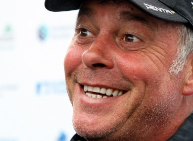 Darren Clarke: optimistic. 