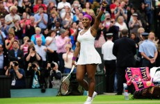 Serena ends Kvitova's Wimbeldon reign as Murray marches into last 8