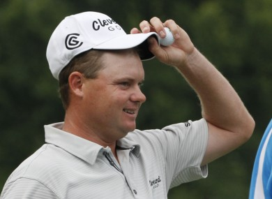 Potter triumphed at the Greenbrier Classic on Sunday.