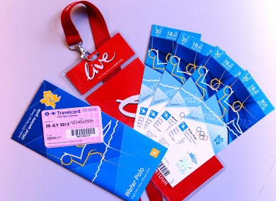 Looking for tickets to the Olympics? London police say you should only buy from the official London 2012 website.