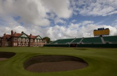 Sunshine brightens prospects for Open Championship