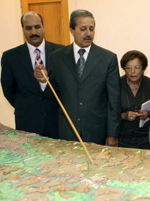 File photo of Nawaf Fares (centre)