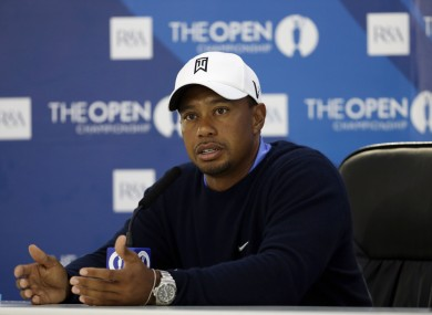 Tiger Woods was among the stars paying tribute to Mandela on his 94th birthday.