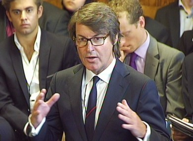 Nick Buckles said he could not disagree with one MP's description of his company's affairs as a 'humiliating shambles'.