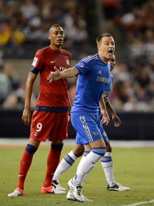 John Terry returned to action last night.