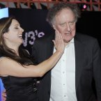 Earlier this year, TV3's Sinead Desmond messes with Vincent Browne at the Convention Centre in Dublin. Photo: Laura Hutton/Photocall Ireland