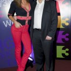 Glenda Gilson also vied for some Vin B time at this year's TV3 spring launch. Photo: Laura Hutton/Photocall Ireland