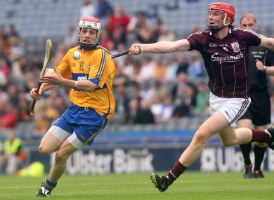 Clare's Shane O'Donnell and Galway's Sean Sweeney will be in minor hurling action today.