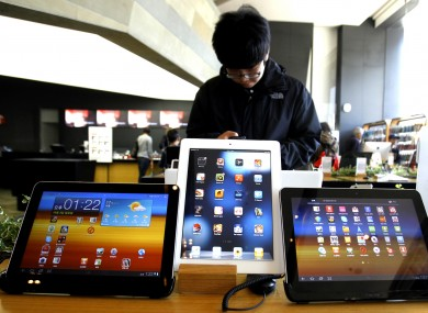 Apple claims Samsung's Galaxy Tab devices infringe patents from its own iPad.