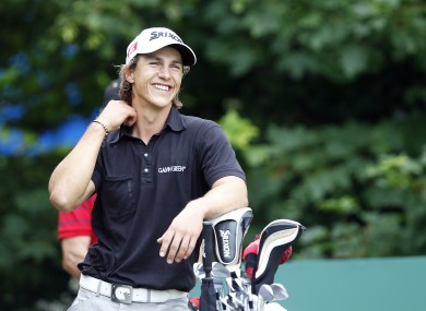 Denmark's Thorbjorn Olesen is in the lead.