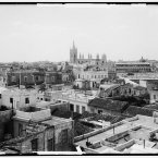 A view out over Havana circa 1904. (Library of Congress, Prints & Photographs Division)
