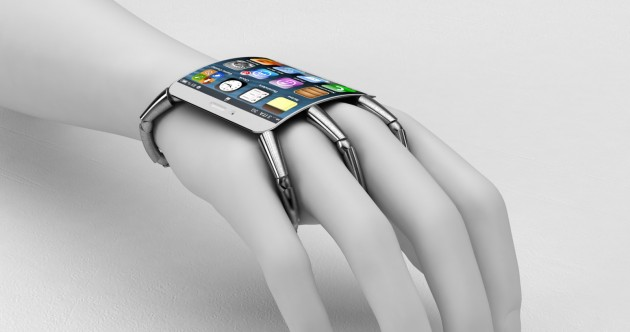 The future? One designer's vision to put the iPhone on your wrist