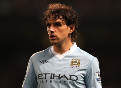 Hargreaves was released by City at the end of last season.