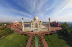 In pictures: An aerial tour of the Taj Mahal