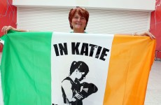In pictures: Irish fight fans fill the ExCel Arena ahead of Katie's showdown