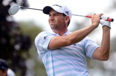 Resurgent Garcia seizes solo lead at The Barclays