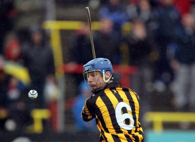 Brian Hogan during the Leinster semi-final.