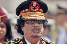 Have you had an email from Colonel Gaddafi's wife?