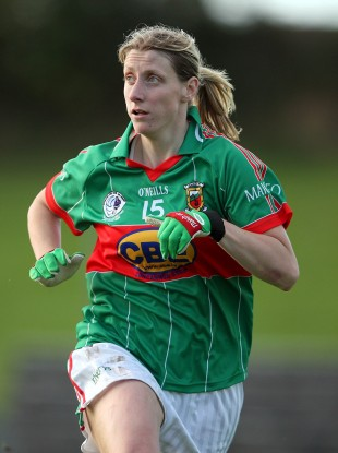 Incredible: Mayo's Cora Staunton.