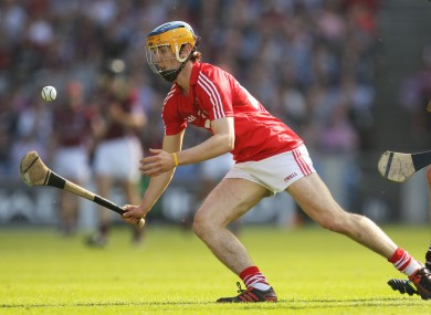 Sweetnam in senior action for Cork in Croke Park.