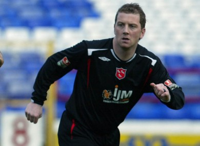Perth during his Dundalk days.