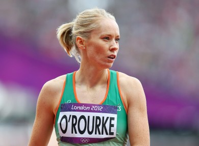 Derval O'Rourke has failed to qualify for tonight's 100m Hurdles Final.