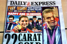 Wait, that's the other team! Papers print wrong Olympic photo