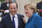 Merkel, Hollande meet to discuss Greek bailout