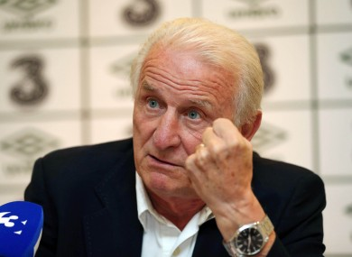 Trapattoni today.