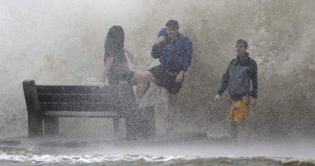 Isaac makes second landfall as New Orleans faces 80mph winds