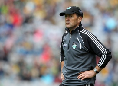Former Kerry manager Jack O'Connor during their All-Ireland quarter-final loss to Donegal.
