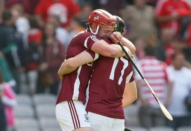 Joe Canning and Joseph Cooney celebrate 12/8/2012