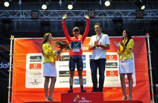Vuelta a Espana: Castroviejo in red as Movistar win team time trial