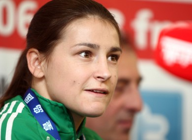 Katie Taylor begins her Olympic journey today.