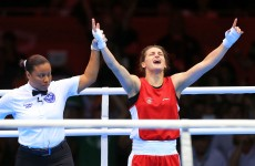 Golden girl: Katie Taylor is Olympic champion
