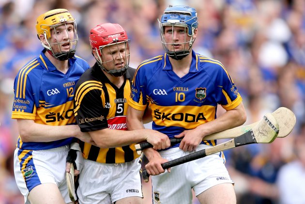 Lar Corbett and Pa Bourke with Tommy Walsh 19/8/2012