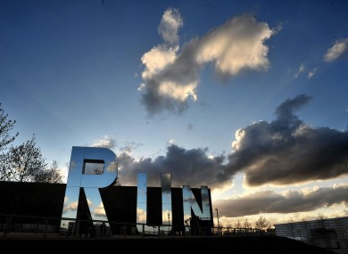 RUN, a work by sculptor Monica Bonvicini