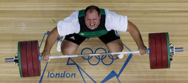 London Olympics Weightlifting Men